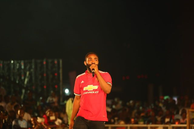 IMG 6218 preview - Davido, Runtown, Mr. P, Niniola, Oritsefemi, 9ice, Olu Maintain, Falz & more Shutdown Barbeach at the Merrybet Celebrity Fans Challenge Event