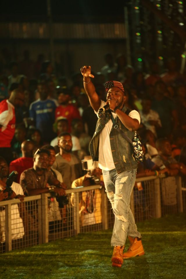 IMG 6334 preview - Davido, Runtown, Mr. P, Niniola, Oritsefemi, 9ice, Olu Maintain, Falz & more Shutdown Barbeach at the Merrybet Celebrity Fans Challenge Event