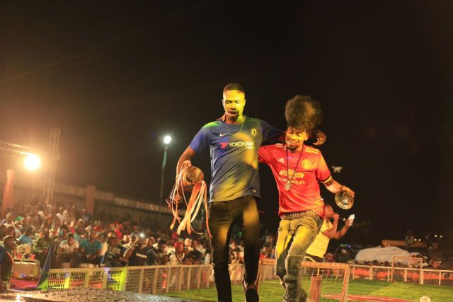 IMG 7479 preview - Davido, Runtown, Mr. P, Niniola, Oritsefemi, 9ice, Olu Maintain, Falz & more Shutdown Barbeach at the Merrybet Celebrity Fans Challenge Event