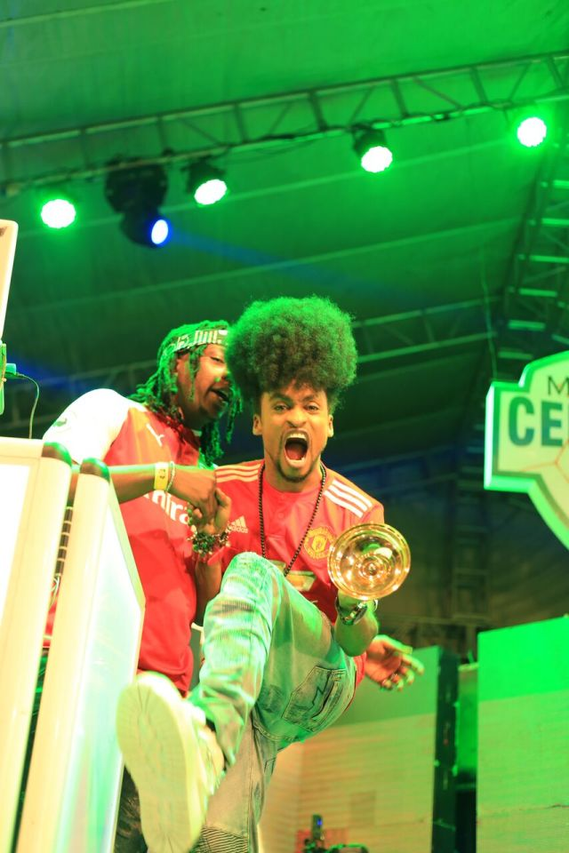 IMG 7484 preview - Davido, Runtown, Mr. P, Niniola, Oritsefemi, 9ice, Olu Maintain, Falz & more Shutdown Barbeach at the Merrybet Celebrity Fans Challenge Event