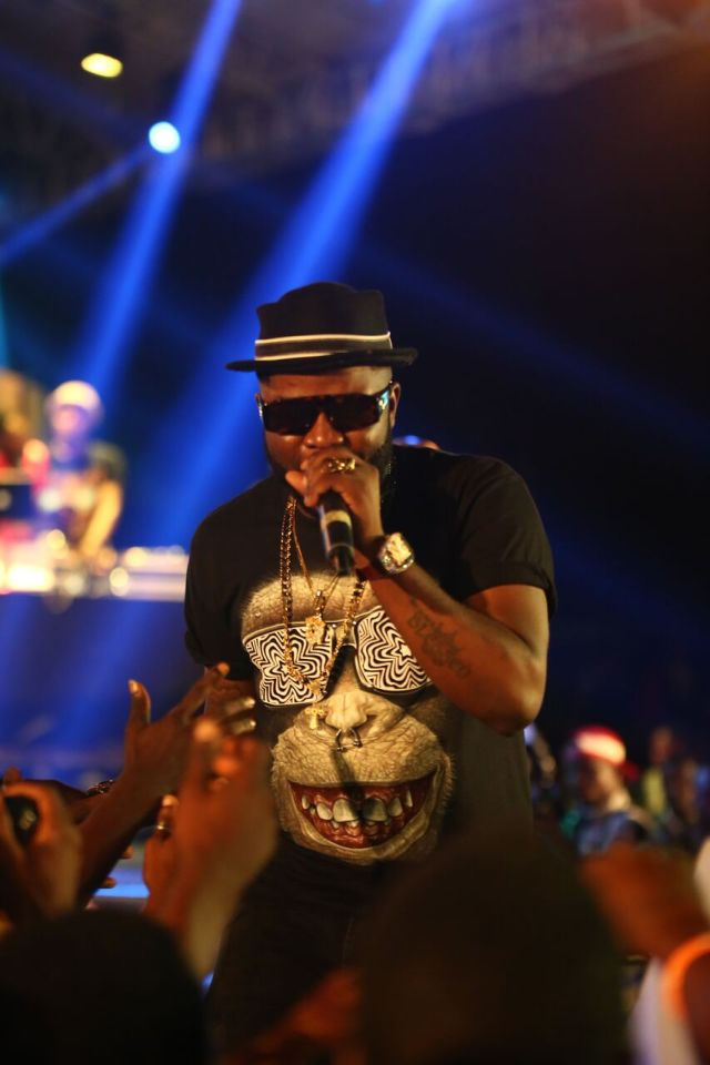 IMG 7539 preview - Davido, Runtown, Mr. P, Niniola, Oritsefemi, 9ice, Olu Maintain, Falz & more Shutdown Barbeach at the Merrybet Celebrity Fans Challenge Event
