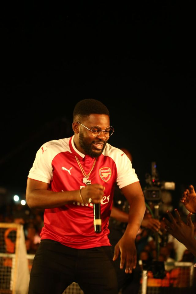 IMG 7627 preview - Davido, Runtown, Mr. P, Niniola, Oritsefemi, 9ice, Olu Maintain, Falz & more Shutdown Barbeach at the Merrybet Celebrity Fans Challenge Event