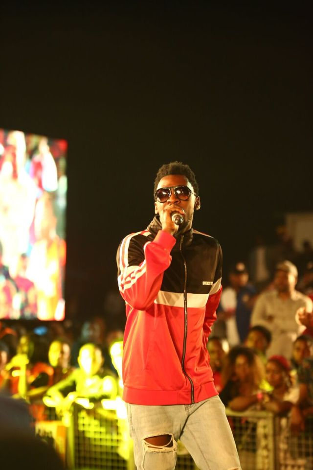 IMG 7686 preview - Davido, Runtown, Mr. P, Niniola, Oritsefemi, 9ice, Olu Maintain, Falz & more Shutdown Barbeach at the Merrybet Celebrity Fans Challenge Event