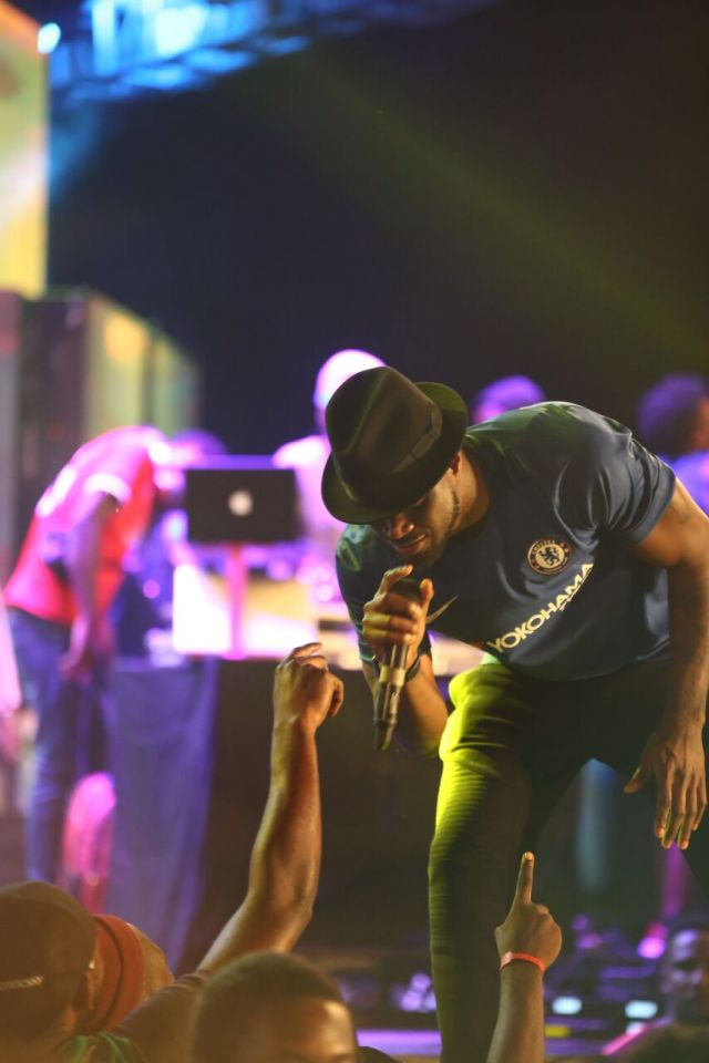 IMG 7706 preview - Davido, Runtown, Mr. P, Niniola, Oritsefemi, 9ice, Olu Maintain, Falz & more Shutdown Barbeach at the Merrybet Celebrity Fans Challenge Event