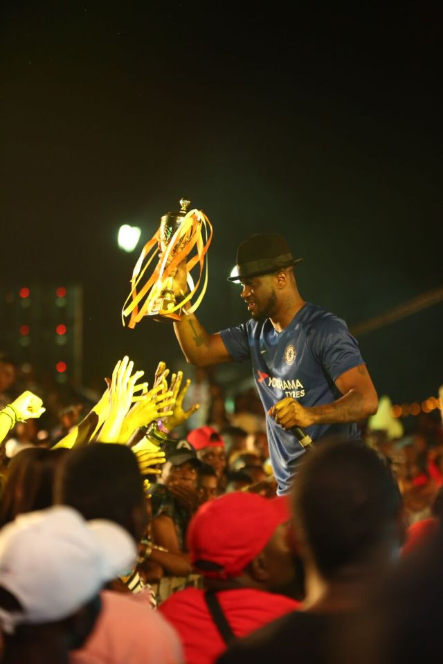 IMG 7717 preview - Davido, Runtown, Mr. P, Niniola, Oritsefemi, 9ice, Olu Maintain, Falz & more Shutdown Barbeach at the Merrybet Celebrity Fans Challenge Event