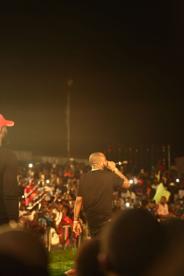 IMG 7725 preview - Davido, Runtown, Mr. P, Niniola, Oritsefemi, 9ice, Olu Maintain, Falz & more Shutdown Barbeach at the Merrybet Celebrity Fans Challenge Event