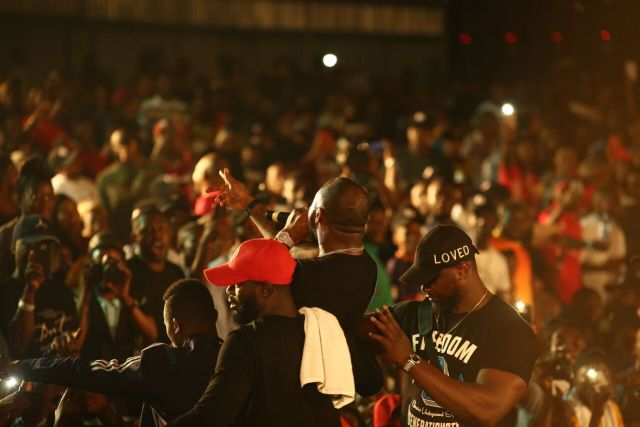 IMG 7754 preview - Davido, Runtown, Mr. P, Niniola, Oritsefemi, 9ice, Olu Maintain, Falz & more Shutdown Barbeach at the Merrybet Celebrity Fans Challenge Event