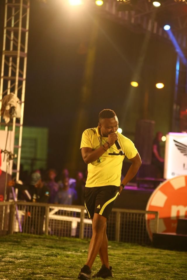 MCFC3 - Davido, Runtown, Mr. P, Niniola, Oritsefemi, 9ice, Olu Maintain, Falz & more Shutdown Barbeach at the Merrybet Celebrity Fans Challenge Event