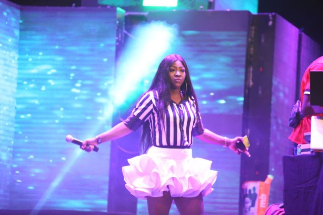 MCFC8 - Davido, Runtown, Mr. P, Niniola, Oritsefemi, 9ice, Olu Maintain, Falz & more Shutdown Barbeach at the Merrybet Celebrity Fans Challenge Event