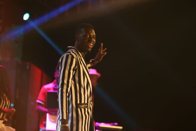MCFC9 - Davido, Runtown, Mr. P, Niniola, Oritsefemi, 9ice, Olu Maintain, Falz & more Shutdown Barbeach at the Merrybet Celebrity Fans Challenge Event