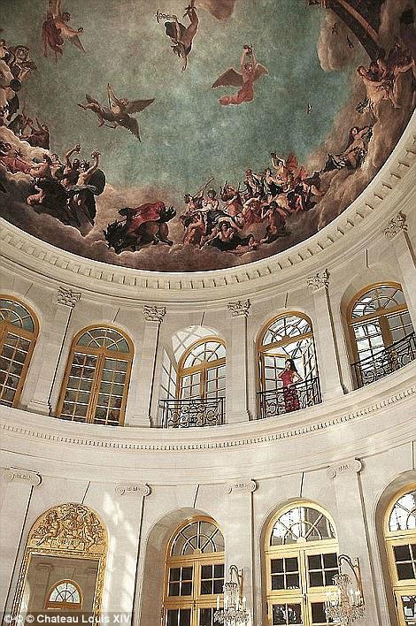French Chateau Louis XIV