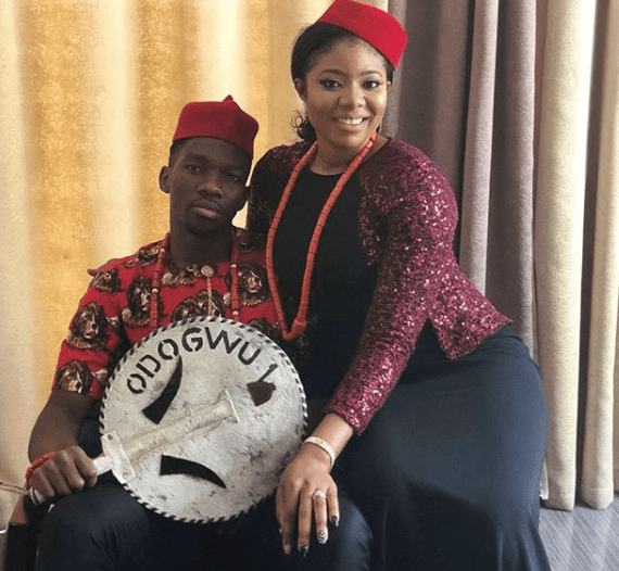 Super Eagles Player Kenneth Omeruo shares Pre-wedding photos