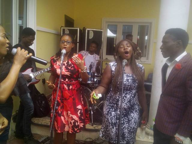 Tope Alabi House Dedication 04 - PHOTO: Tope Alabi moves into new  House
