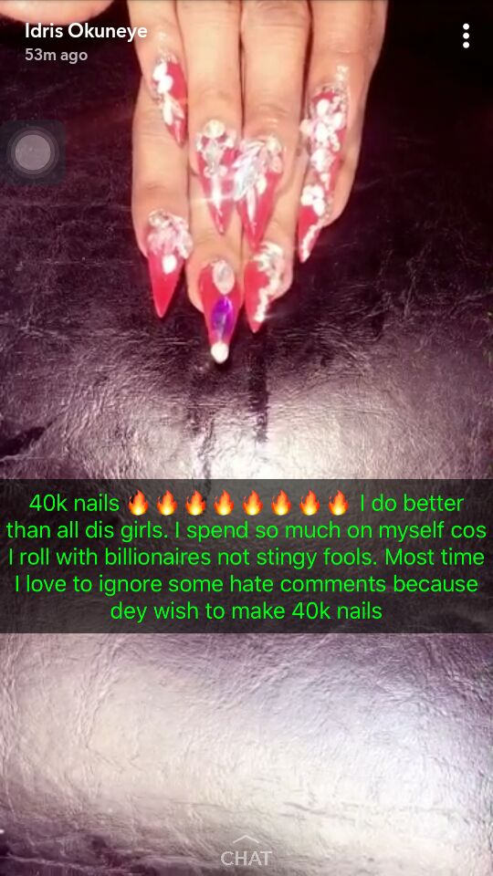 Me Move With Billionaires Not Stingy Yahoo Boys