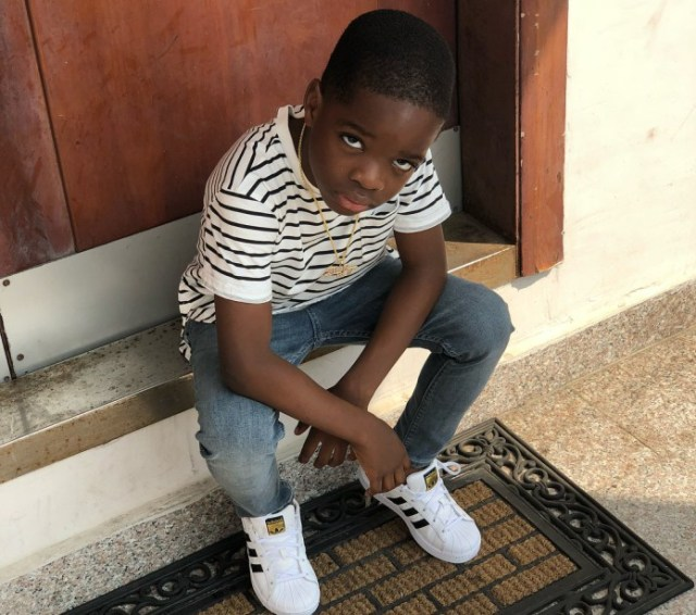 bolu - He is Wizkid's Replica — Boluwatife is the true son of his Father, Wizkid (photos)
