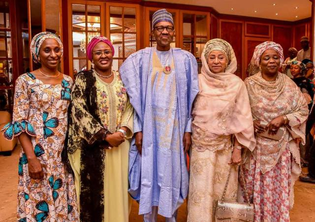 buhari surprise birthday party 05 - Photos And Video From Buhari's Surprise Birthday Get Together
