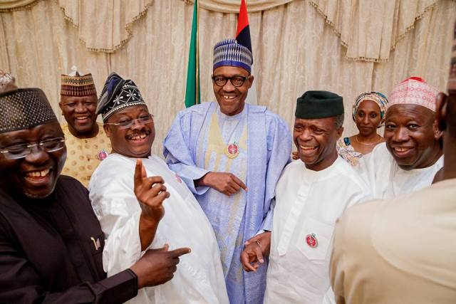 buhari surprise birthday party 07 - Photos And Video From Buhari's Surprise Birthday Get Together