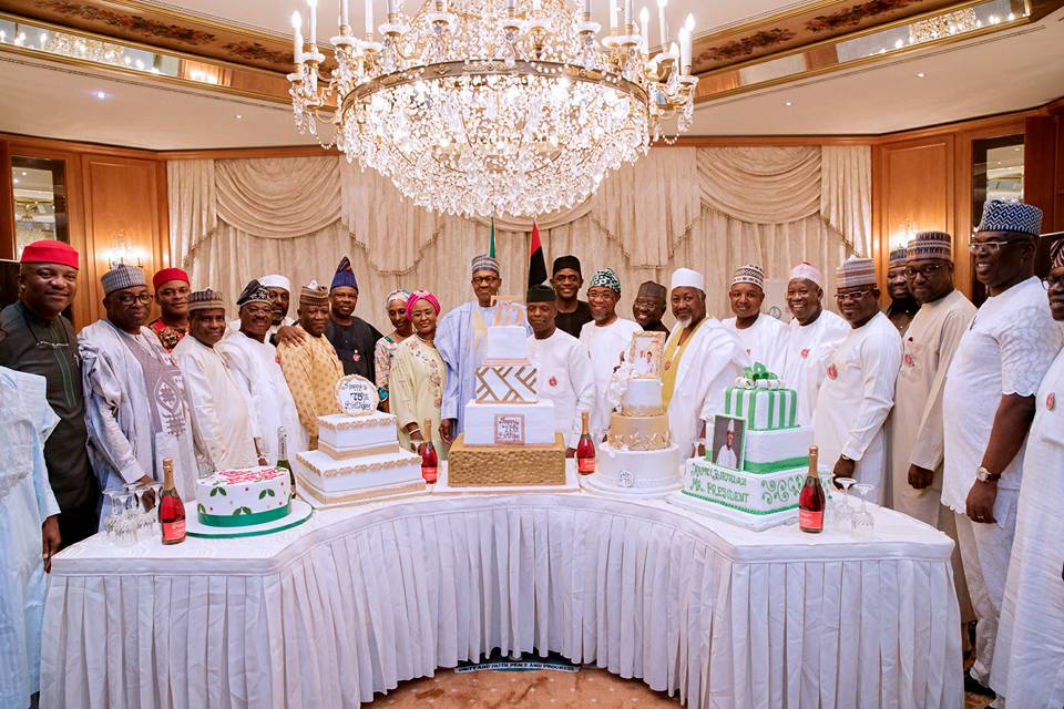 Buhari's surprise Birthday get together