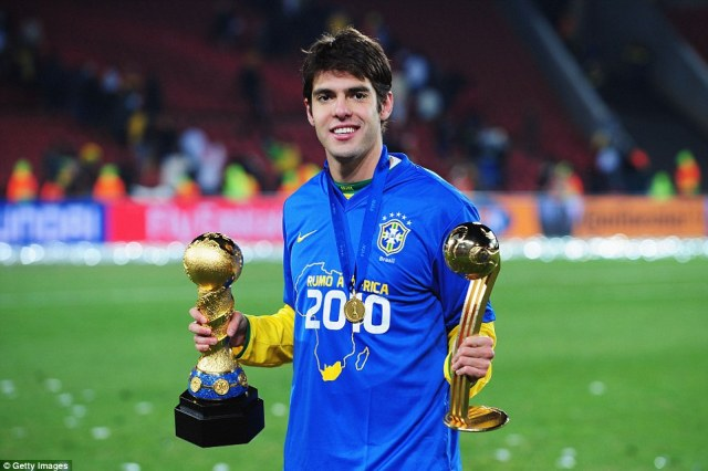 kaka1 - Brazil Star Kaka Announces His Retirement From International Football