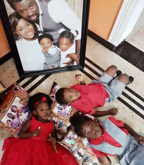mercy - Adorable photos of Mercy Johnson's kids as her last born, Angel, turns 2 today.