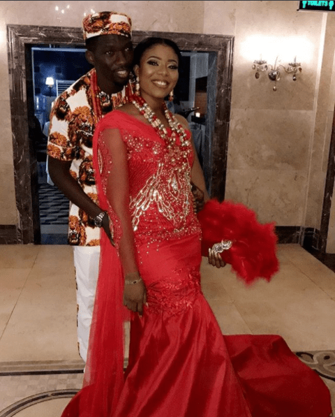 Kenneth Omeruo's traditional marriage
