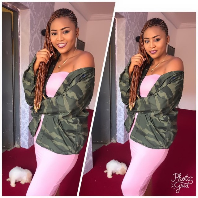 Regina Daniels goes braless