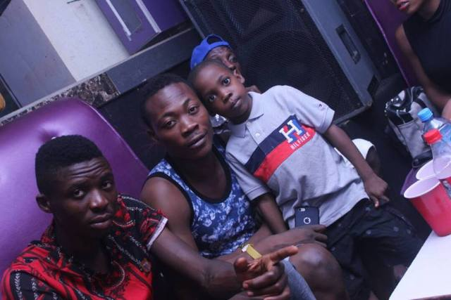 slay boy5 - Lady takes her son to nightclub to celebrate his birthday in Ibadan (Photos)