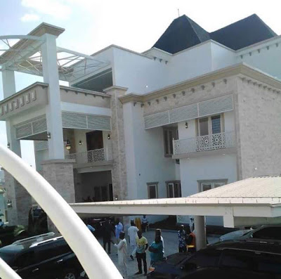 yahaya bellos house in kogi4 - Checkout Photos From The Opening Of Gov. Yahaya Bello's New Mansion