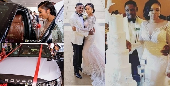 Orji Kalu`s daughter gets N80m Range rover as wedding gift from husband