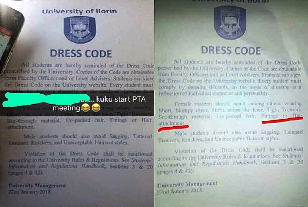 Unilorin bans female students