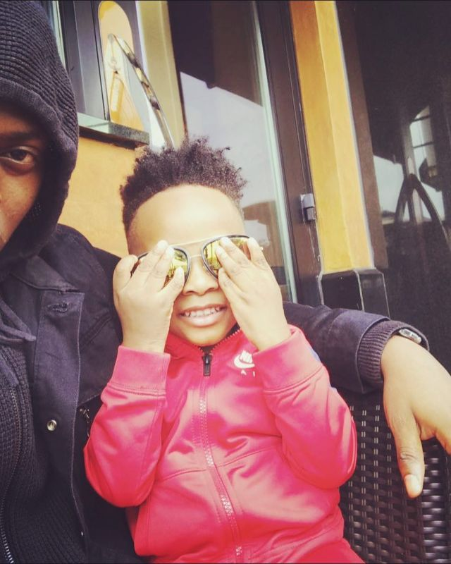 Olamide loses mom, just few hours after he celebrated his son's birthday