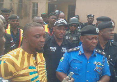 Lagos Police Arrest Badoo Cult Leader
