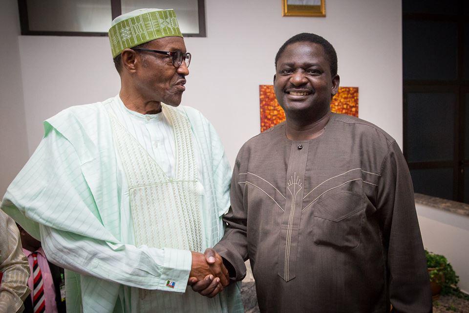 We are very lucky to have President like Buhari - Femi Adesina