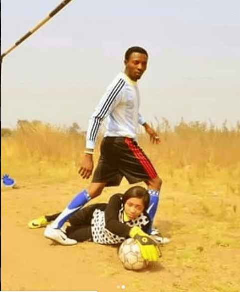 Football Inspired Pre-Wedding Shoot