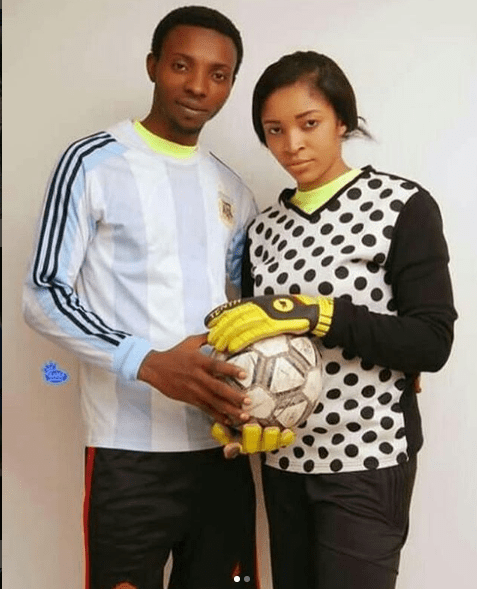 Football Inspired Pre-Wedding Shoot