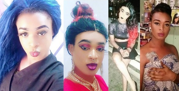"""I want to be like Bobrisky"" — Meet The 26-year-old Guy Who hopes To Become Ghana's Version Of Bobrisky (photos)"