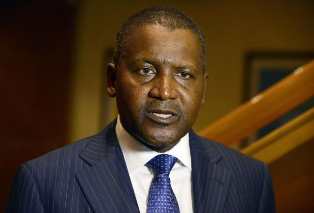 dangote - Dangote is Africa's richest for 7th year in a row