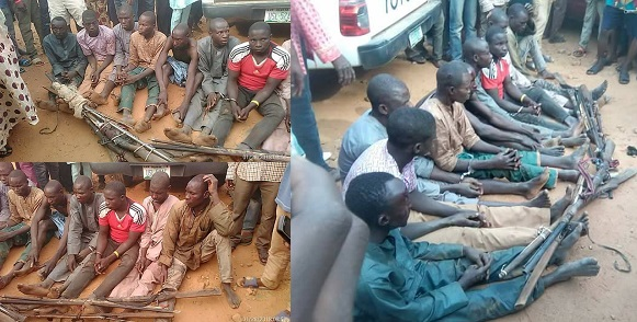 Fulani herdsmen caught
