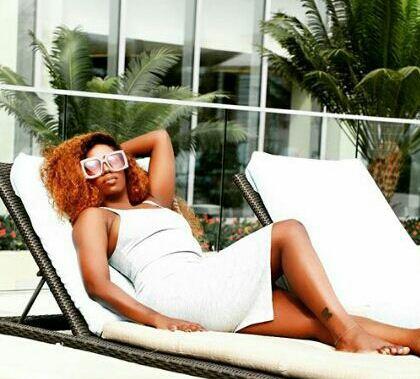 Tiwa Savage flaunts leg tattoo