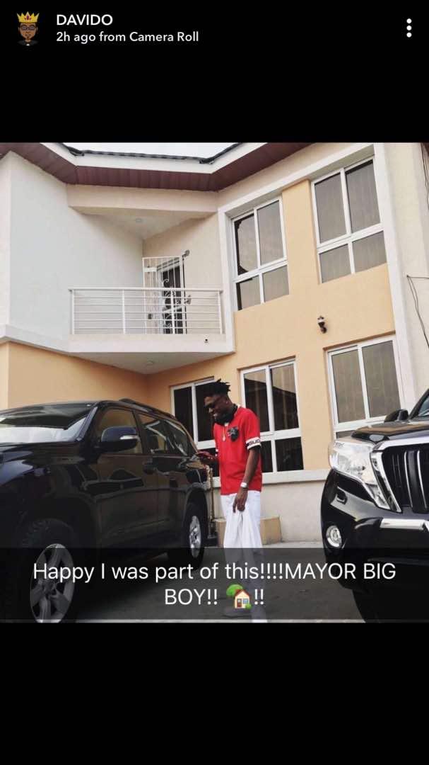 DMW Star, Mayorkun Acquires Multi-Million Naira Mansion