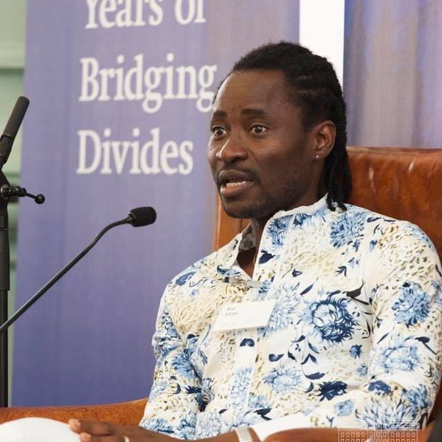 Nigerian gay rights activist, Bisi Alimi has shared a lil bit of how he became what he is today – according to he who cross dresses sometimes, he learnt how to be a man by dressing up as a woman.