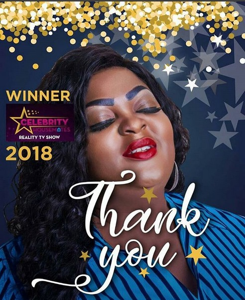 Eniola Badmus Wins 2018 Celebrity Housemates Reality TV Show