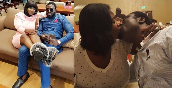 Mercy Johnson gets romantic