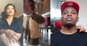 Lady confronts Olamide