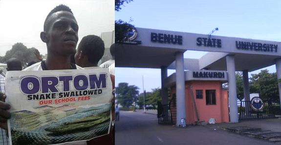Benue State University shut down
