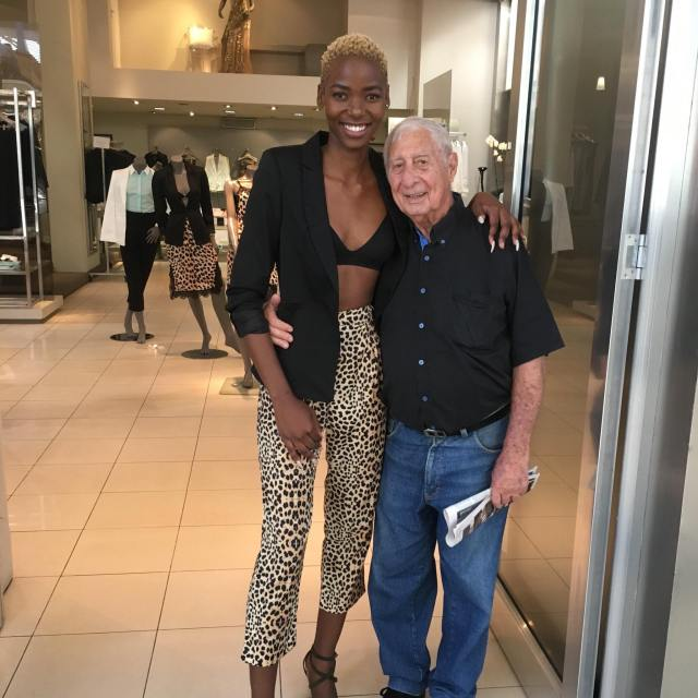 South African lady reveals why she married her old white husband, people react