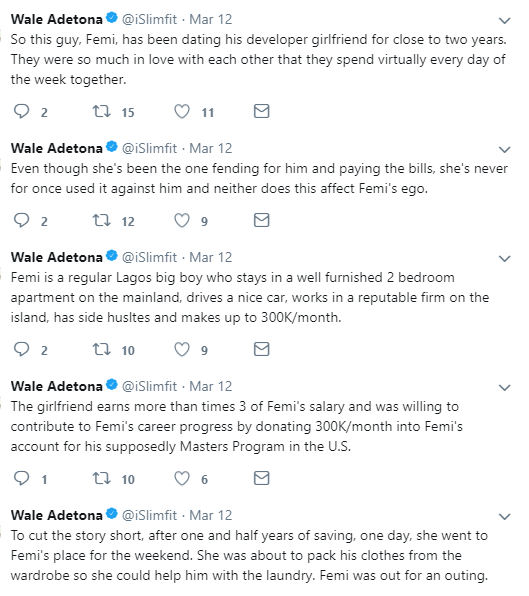 Nigerian man cons his girlfriend of almost two years into saving money for his masters but used it to secure Canadian visa for himself and his wife