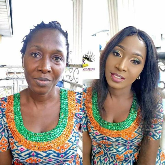 checkout this unbelievable makeup transformation photo adelove