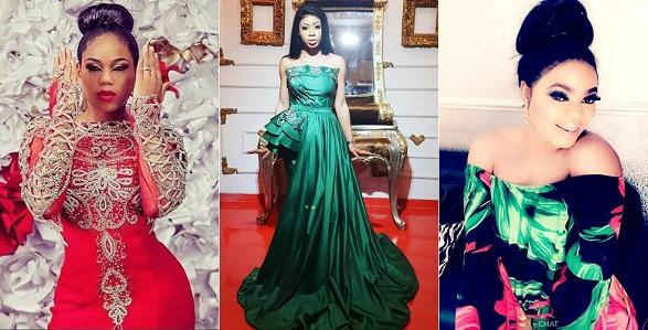 Toyin Lawani styles Nina