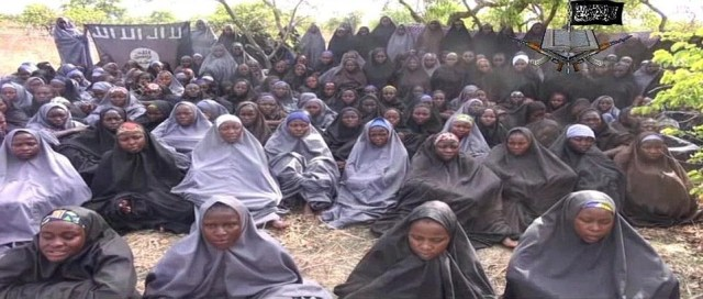 President Muhammadu Buhari on Friday said the remaining girls abducted by terrorists from Government Girls Secondary School, Chibok, Borno State, four years ago were still in captivity because of some setbacks in the negotiation between the Federal Government and the Boko Haram sect.